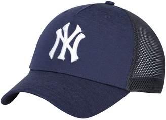 New York Yankees Unbranded Men's Under Armour Navy Armour Twist Trucker Performance Adjustable Hat