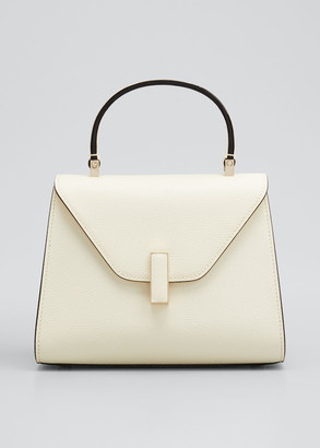 Valextra Iside Mini Leather Satchel Bag