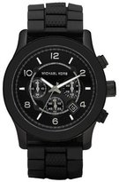 Michael Kors Men's MK8181 Silicone Quartz Watch with Dial