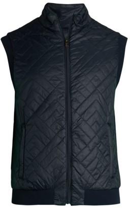 Saks Fifth Avenue COLLECTION Chevron Stitch Vest