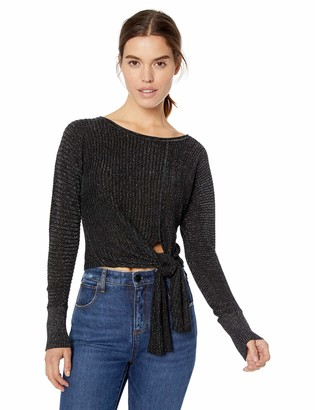 Ramy Brook Women's Benny Lurex Sweater