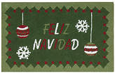 """Nourison Holiday Ornament 20"""" x 30"""" Accent Rug"""