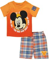 "Disney Mickey Mouse Baby Boys' ""Bright Contrast"" 2-Piece Outfit"