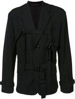 Yohji Yamamoto stripes casual blazer