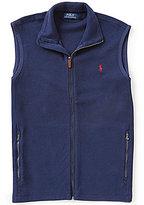 Polo Ralph Lauren French-Rib Knit Mockneck Vest