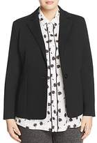 Marina Rinaldi Omnibus Tailored Jersey Blazer