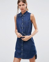 Dittos Ditto's Olivia Denim Shirt Dress