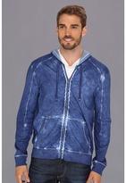 Calvin Klein Jeans Cotton Jersey Zip Hoodie Men's Sweatshirt