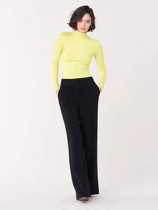 Diane von Furstenberg Caleen Slinky-Jersey Mockneck