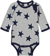 Molo Field Babysuit With Casino Star Print