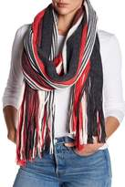 Free People Kolby Stripe Fringe Scarf