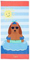 Pottery Barn Kids Dog Mini Beach Towel