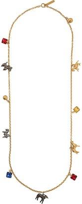 Marni multi-charm necklace