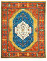 "Solo Rugs Adina Collection Oriental Rug, 8'1"" x 9'10"""