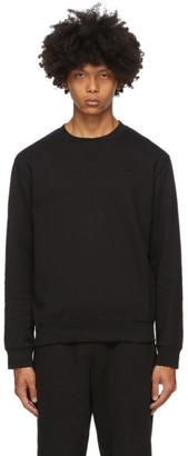 McQ Black Swallow Overlock Sweatshirt