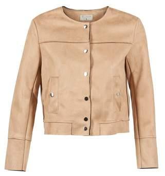 Betty London EJOK women's Jacket in Beige