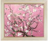 Branches of an Almond Tree in Blossom, Pearl Pink - Framed Oil reproduction of an original painting by La Pastiche Originals