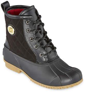 Liz Claiborne Womens Redonda Winter Boots Flat Heel
