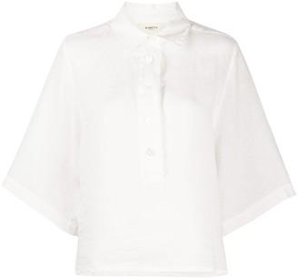 Barena Linen Henley Shirt