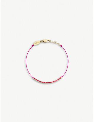 Selfridges RedLine Eclipse 18ct yellow-gold bracelet