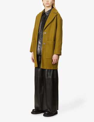 Topshop Margo relaxed-fit woven jacket