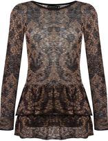 Cecilia Prado round neck knitted blouse