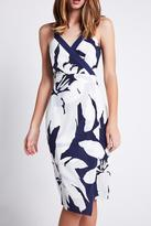 BCBGeneration Floral Column Dress