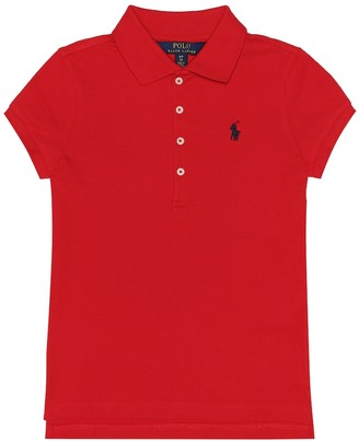 Polo Ralph Lauren Kids Stretch cotton polo shirt