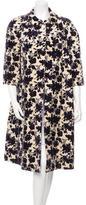 Tory Burch Jacquard Velvet Coat