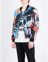 Moschino Transformers shell bomber jacket