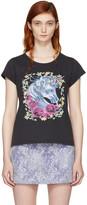 Marc Jacobs Black Baby Unicorn T-shirt