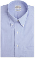 Eagle Men's Classic-Fit Non-Iron Blue Feather Dress Shirt