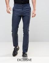 Reclaimed Vintage Skinny Houndstooth Pants