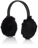 Crown Cap WOMEN'S FUR EARMUFFS-BLACK