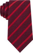 Sean John Men's Diamond Texture Stripe Tie