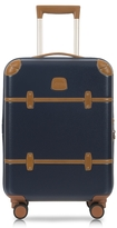 "Bric's Bellagio V2.0 21"" Blue Tobacco Carry-On Spinner Trunk"