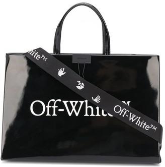 Off-White Logo Print Tote Bag