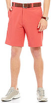 Roundtree & Yorke Performance Big & Tall Flat-Front Stretch Shorts