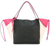 Etro colour block tote - women - Calf Leather/Polyester - One Size