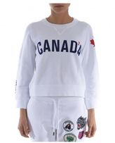 DSQUARED2 Canada Cropped Sweatshirt