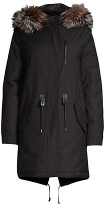 Mackage Rena-DX Hooded Fox Fur Coat