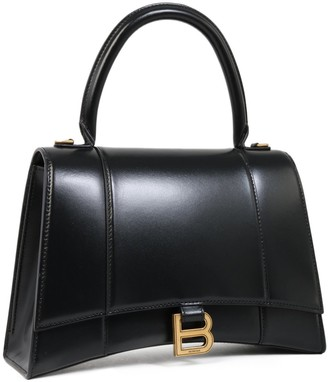 Balenciaga Hourglass Medium Top Handle Bag