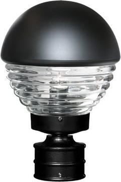 Donnie 1-Light Opaque Lantern Head Latitude Run Finish: Black