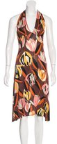 M Missoni Tulip Printed Halter Dress