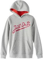"Nike Girls 7-16 Just Do It"" Graphic Hoodie"