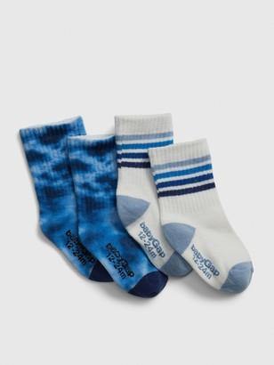 Gap Toddler Crew Socks (2-Pack)