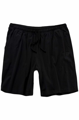 JP 1880 Men's Big & Tall Soft Summer Sleep Shorts Black XX-Large 708405 10-XXL