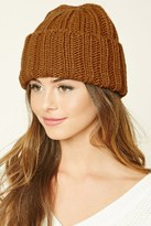 Forever 21 Purl Knit Fold-over Beanie