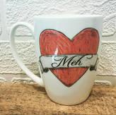 Charlotte Clark Designer Maker Meh Bone China Mug