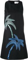 Victoria Beckham palm tree dress - women - Silk/Cotton - 6